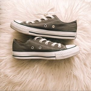 Grey Converse - Women's